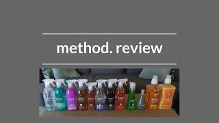 Clean With Me | Method Non-Toxic Cleaners Product Review