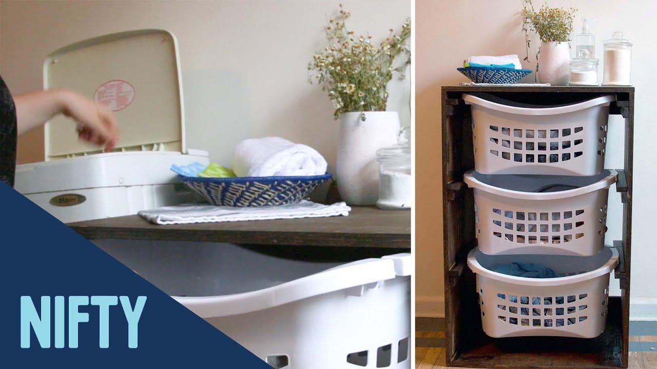 Laundry Room Organizing Station