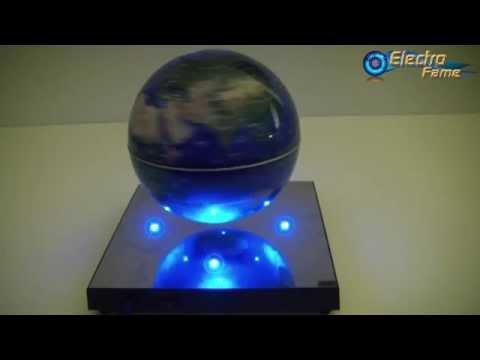 Comment installer le Globe Terrestre Flottant à Lévitation Magnétique - ElectroFame