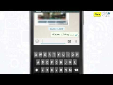 How To Chat Using WhatsApp