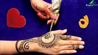 Beautiful Hand Mehndi Design Easy | Latest Mehndi