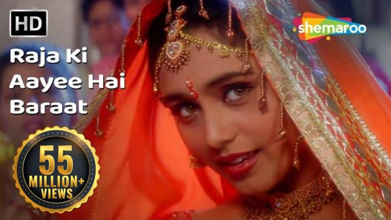 Download Raja Ki Aayee Hai Baraat   Raja Ki Aayegi Baraat (1996)   Rani Mukerji   Shadaab Khan   Filmi Gaane