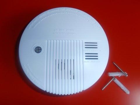Importante como instalar alarma de humo contra incendios. thumbnail