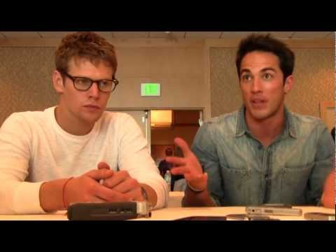 ComicCon 2012: The Vampire Diaries' Zach Roerig & Michael Trevino Q&A