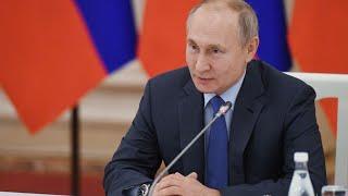 Путин на заседании Совета по правам человека