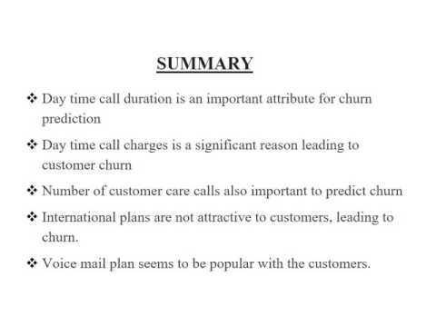 Final Presentation  Customer Churn in Telecom Industry