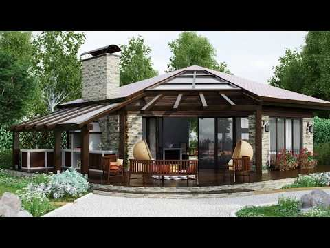 Круглые дома от компаний Mandalahomes & Deltechomes