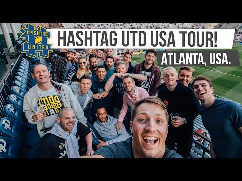 HASHTAG UNITED IN ATLANTA | USA Tour #1 | #CocaColaUSTour