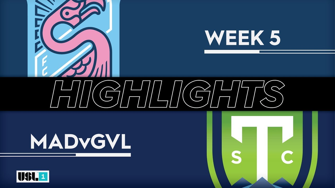 Highlights: Forward Madison FC ties Greenville Triumph SC in USL League One  home opener