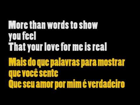 Extreme - More than words - Legendado #57