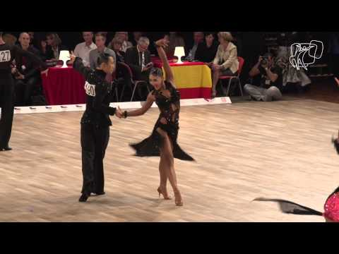 Hou - Zhuang, TPE | 2014 World Latin R1 R | DanceSport Total