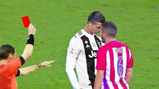 شاهد ما يحدث عندما يغضب كريستيانو رونالدو   يوقف المباراة بأكملها..!!
