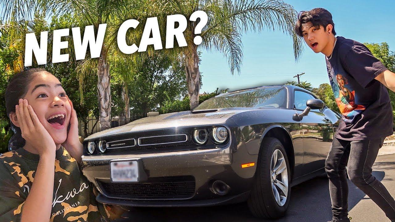 New Baby!! New Sports Car!! (Roadtrip In LA) | Ranz and Niana
