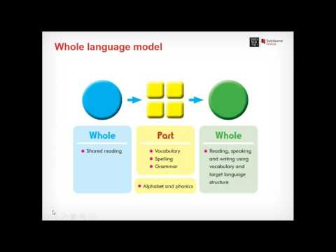 Top down theory and the whole language model