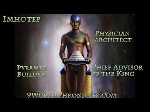 Imhotep the Genius of Kemet (Egypt)