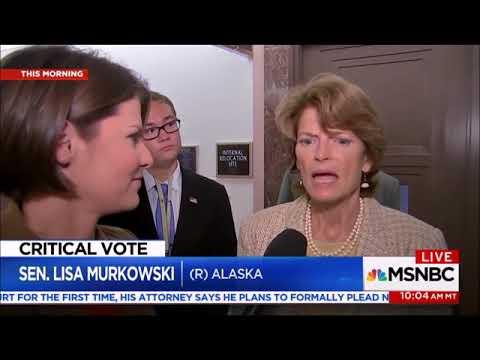 Donald Trump Lisa Murkowski Feud