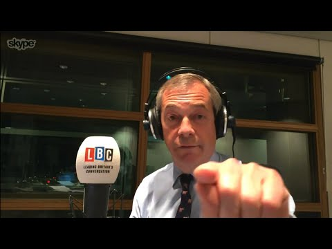 The Nigel Farage Show: What should Theresa May do next? (Russia) LBC - 12th March 2018