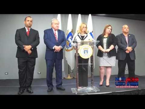 Conferencia de alcaldesa de San Juan, Carmen Yulín Cruz