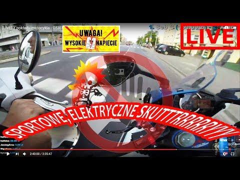 [LIVE] z pokładu motocykla - GSXR 1000