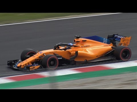 formula 1 f1 2018 test day all cars pure sound by. Black Bedroom Furniture Sets. Home Design Ideas