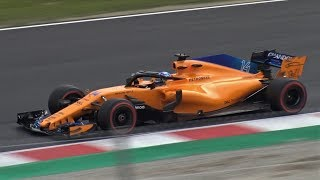 Formula 1 [F1] 2018 Test Day | All Cars Pure Sound by Jaume Soler