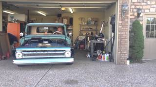 1964 Chevy C10 first drive under her own power. Chevy 350 360hp 700r4