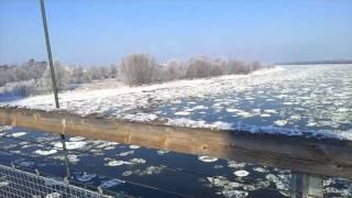 Die Elbe - Magdeburg Winter 2012