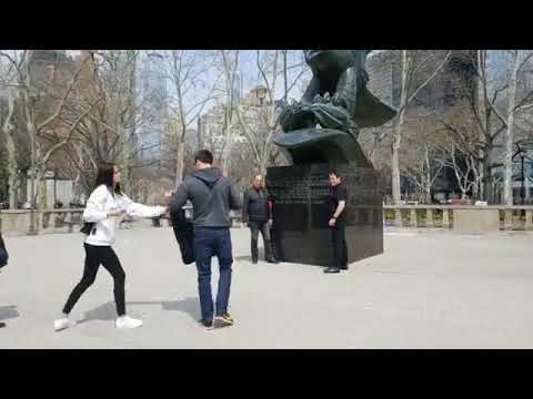 4-12-2018 Battery Park & Statue of Liberty - New York - Streaming by Leslie