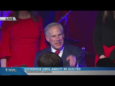FULL: Texas Gov. Greg Abbott victory speech