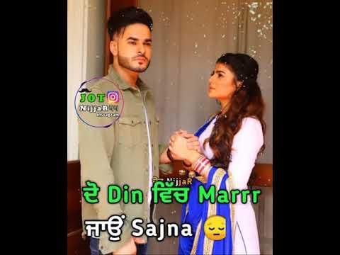 Koun Hoyega B Praak Whatsapp Status | Latest Punjabi Songs 2019 | Romantic Punjabi Whatsapp Status