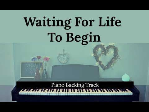 Waiting for Life to Begin: ONCE ON THIS ISLAND (Piano accompaniment / Backing / Karaoke track)