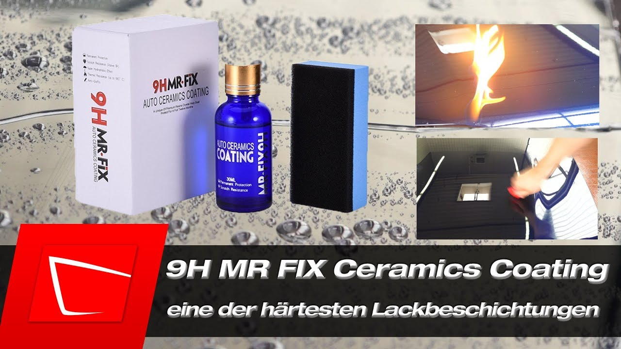 9hmrfix keramikversiegelung richtig auftragen test apply. Black Bedroom Furniture Sets. Home Design Ideas