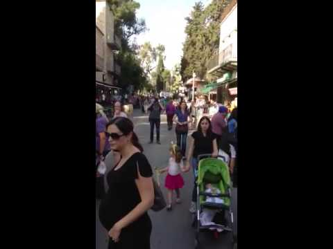 Emek Refaim Sustainability Street Festival