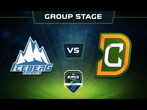 Iceberg vs DC.SA Game 1 - King's Cup: America Group Stage - @DakotaCox @GranDGranT @Lacoste