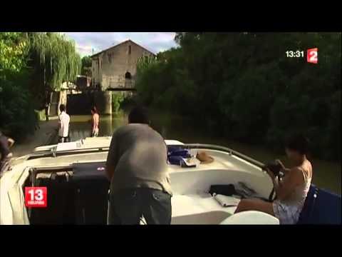 Tourisme fluvial sur la Baïse : de Buzet à Nérac