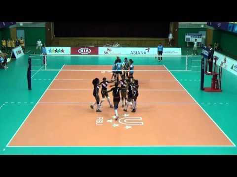 Zimbabwe vs Thailand volleyball