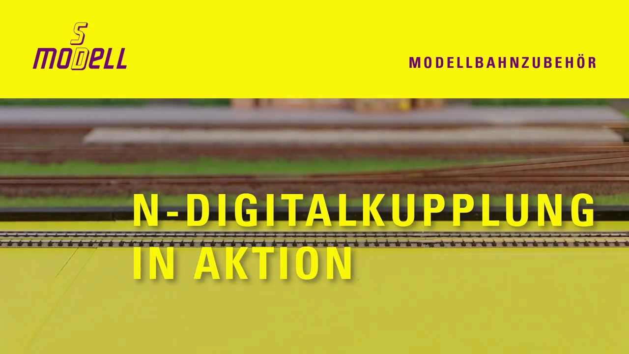 SD Modell Digitalkupplung für Spur N / Digital Coupler for N scale ...