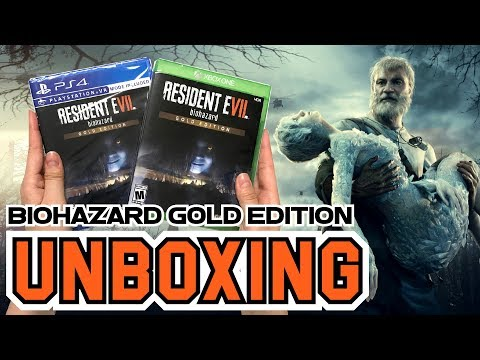 Resident Evil 7 Biohazard Gold Edition (Xbox One/PS4) Unboxing !!