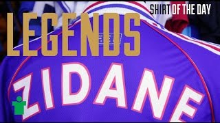 Legends - Classic Shirts of Zinedine Zidane