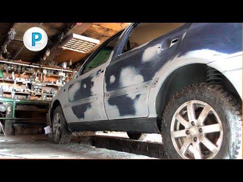 Как обработать грунт на авто перед покраской