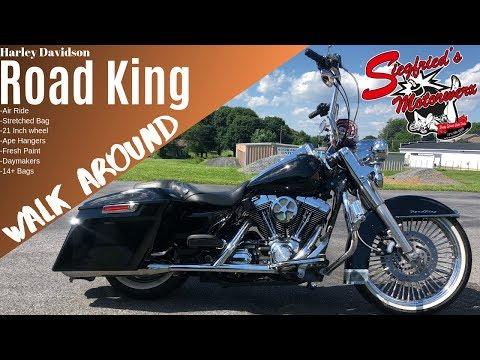 Road King CUSTOM walk around. Air ride / Big Wheel / Apes- for sale near Lebanon Pennsylvania