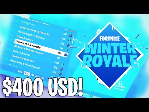 How We Won $400 USD In The Winter Royale (Day 1) #ValueRC