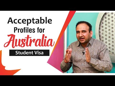Acceptable Profiles For Australia Student Visa