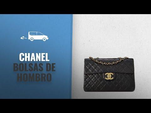 a5ee73e75 Chanel Bolsas De Hombro 2018 Mejores Ventas: CHANEL Black Quilted Lambskin  Half Flap Maxi - YouTube