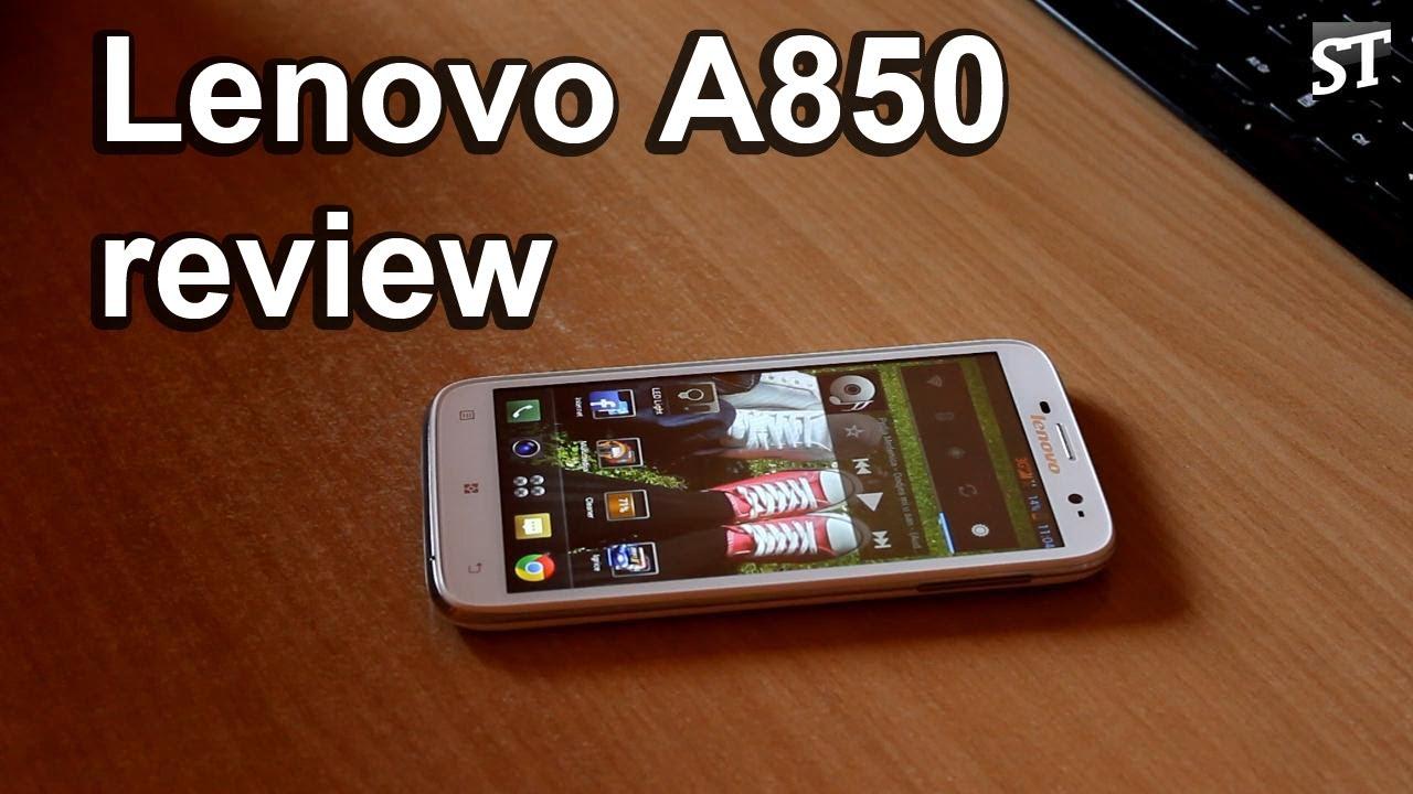 Lenovo A850 review [SRB] - YouTube