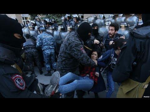 В Ереване демонстранты меняют тактику протестов  / Новости