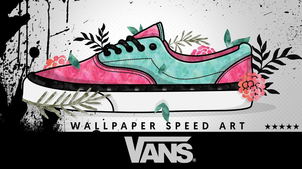 vans wallpaper speed art youtube