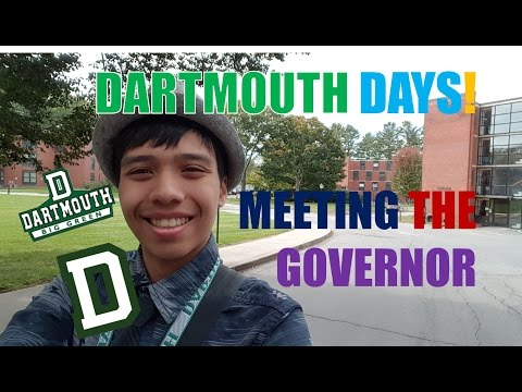 Dartmouth Days: Episode 3: Hello Mr. Governor!