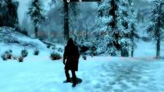 Мод оружия- звёздый меч в Skyrim