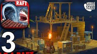 RAFT ORIGINAL SURVIVAL GAME - Walkthrough Gameplay Part 3 (iOS Android)